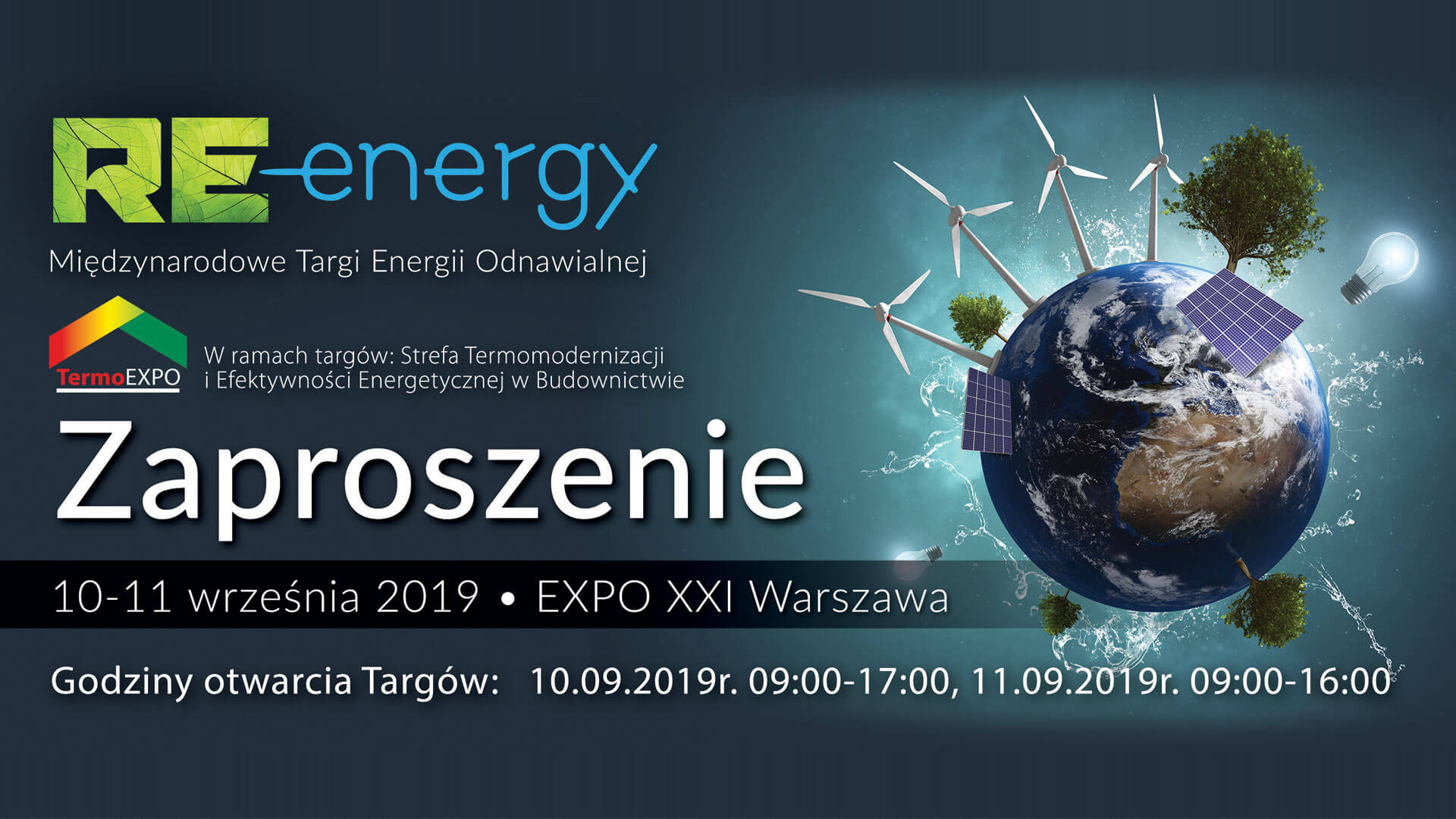 Internationale Messe für erneuerbare Energien RE-Energy