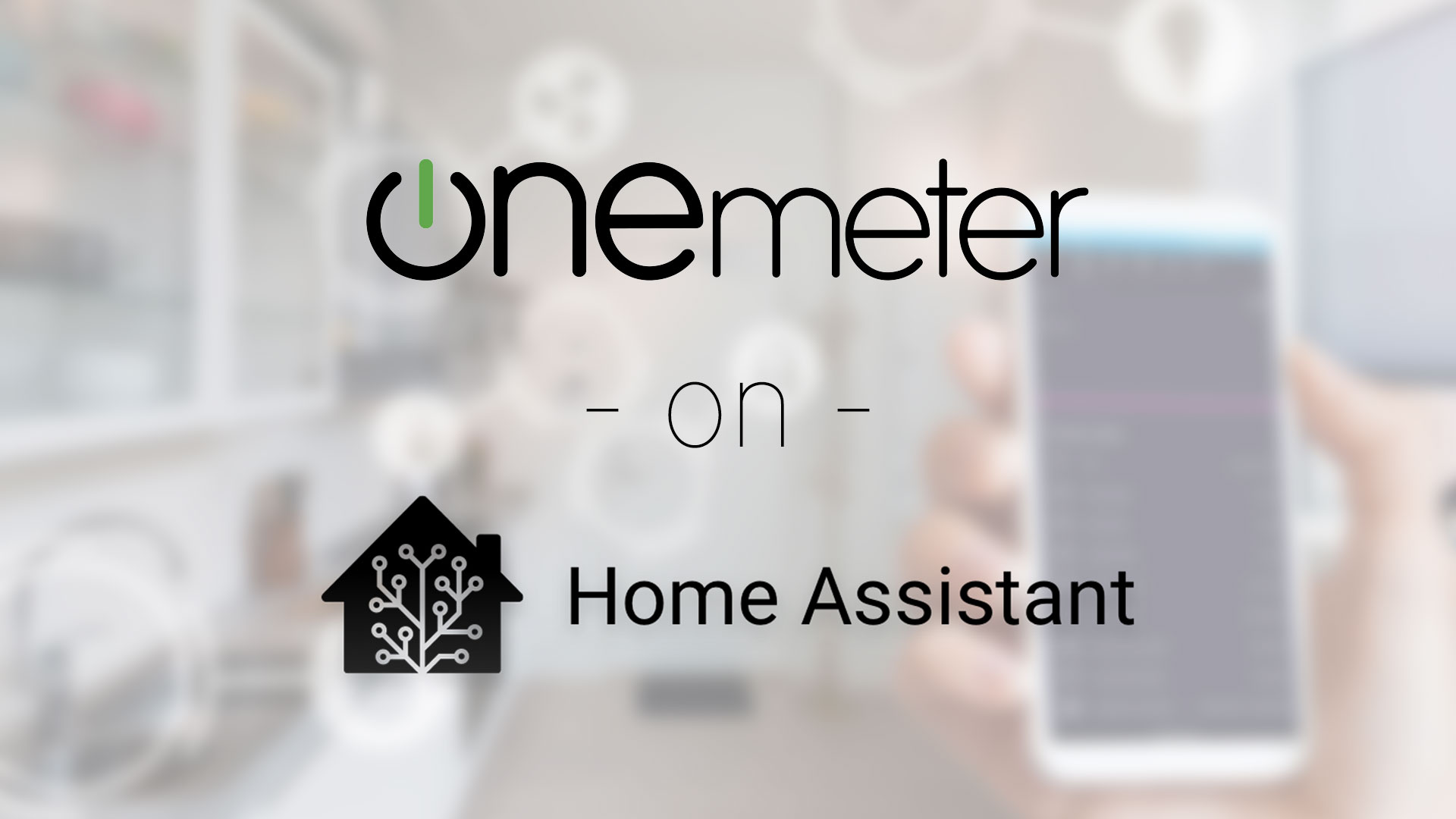 How to monitor your electricity consumption in Home Assistant with OneMeter